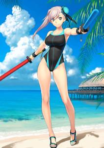 JP Fate Grand Order FGO  Musashi Swimsuit 500 SQ starter account