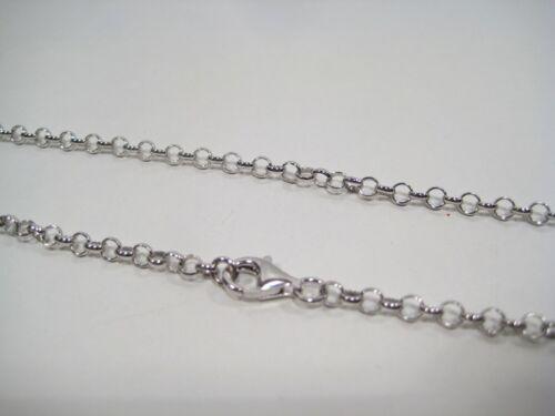 Catena rolò mm 3,5 VERO argento 925 da cm 40 a cm 120 Top qualità prezzo