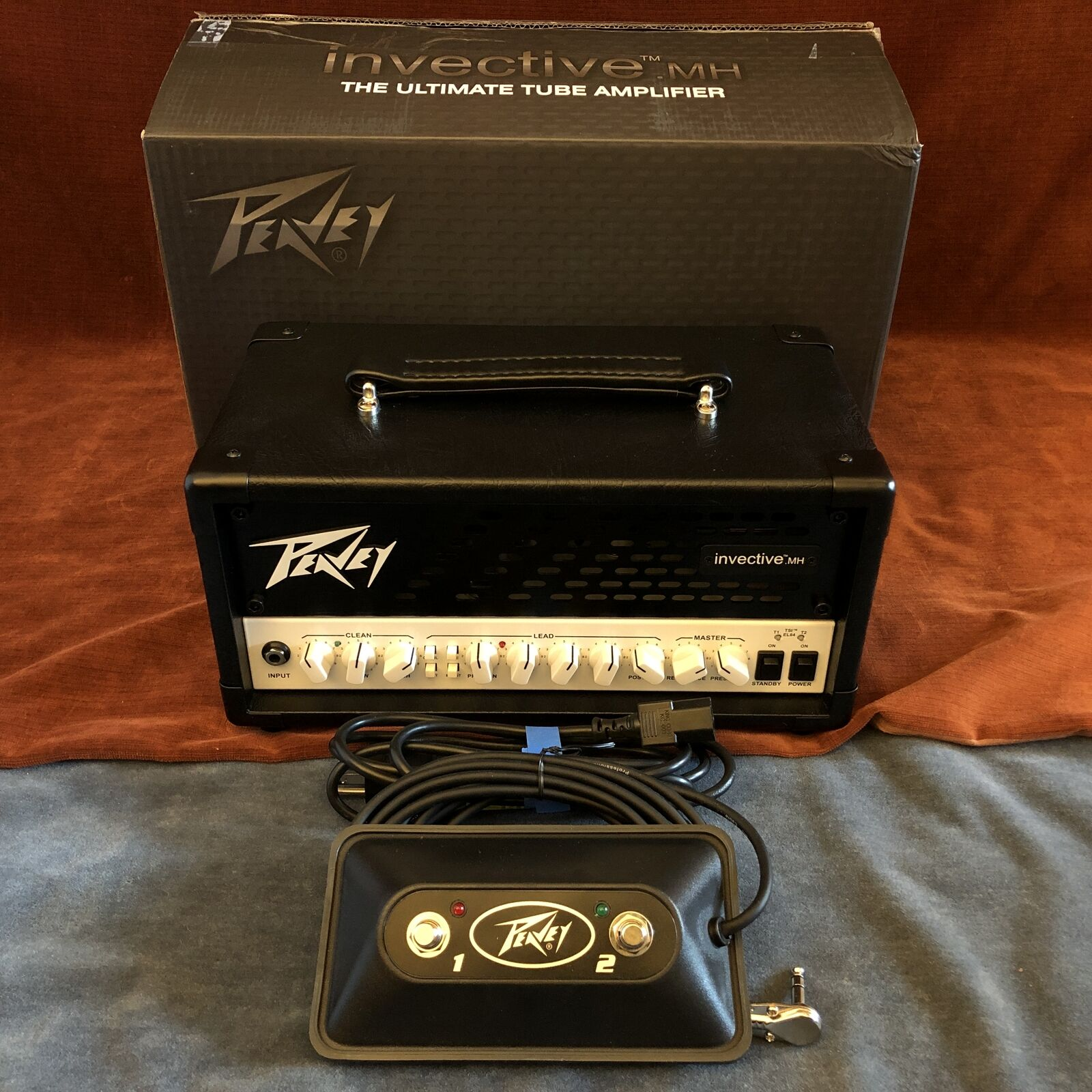 Peavey Invective MH Misha Mansoor Signature 20W Mini Guitar Head w/ Footswitch. Buy it now for 629.00