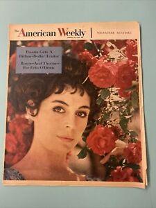 1959 August 23 AMERICAN WEEKLY MAGAZINE Ormond Gigli Cover Erin O'Brien