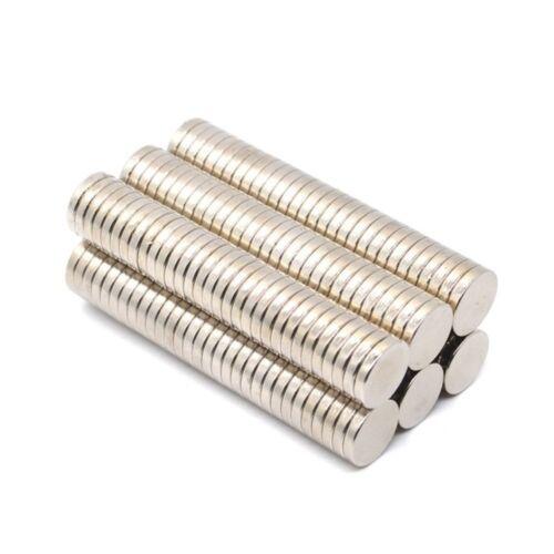 Neodym Magnete 10 x 2 mm Supermagnete hohe Haftkraft Scheibenmagnet N35 25 Stück