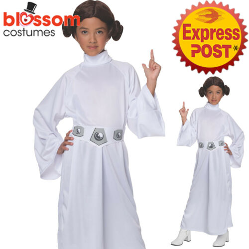 Wig CK1135 Deluxe Girls Child Star Wars Princess Leia Fancy Dress Up Costume