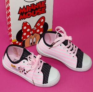 Details zu Disney Minnie Mouse Sneaker Turnschuhe Canvas Schuhe SMILE WOW Gr. 29 33 34 NeU