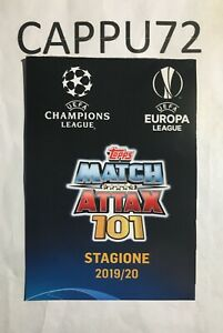 TOPPS-MATCH-ATTAX-101-SPECIAL-CARDS-LIMITED-EDITION-CHAMPIONS-LEAGUE-2019-20