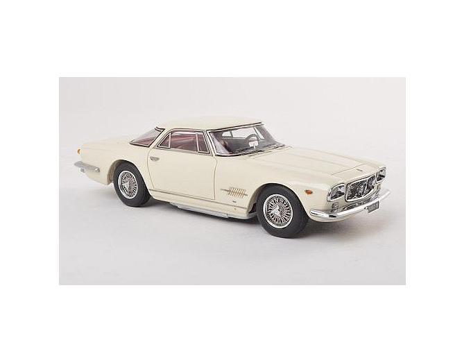 Maserati 5000 GT Allemano 1960 blanc 45657 Neo 1 43 new in a Box  neuf dans sa boîte