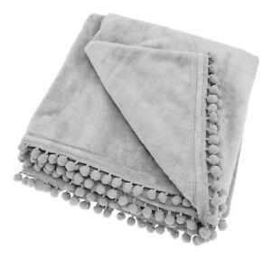 Pom-Pom-Braided-Cashmere-touch-Fleece-Throw