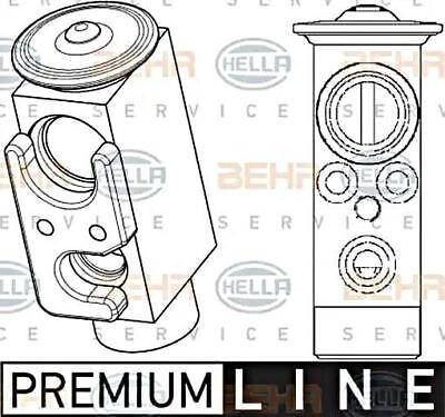 A//C Expansion Valve-Block Expansion Valve UAC EX 529511C