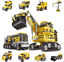 XINGBAO13002-Building-Bricks-Giant-Excavator-Changeable-Toys-Gifts-800-PCS-8in1 thumbnail 4