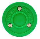 Green Biscuit Original Hockey Pucks - Green