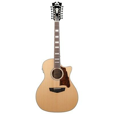 Musical Instruments & Gear Guitars & Basses Reliable D'angelico Premier Fulton Grand Auditorium 12-string Acoustic-electric Guitar