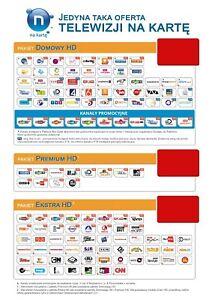 Nc Plus Na Karte.Details About Pakiet Domowy Hd Telewizja Na Karte Nc 3 Miesiace Zasilenie