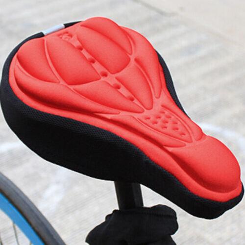 Extra Wide Comfort Bicycle Saddle Big Bum Bike Seat Cruiser Soft Sprung Gel Pads