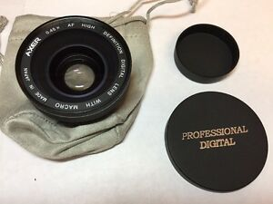 Digital Vision 0.45xAF Wide Angle Lens H.D With Macro
