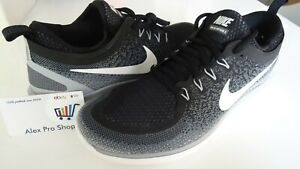 new style 120be 05c5d Details about New Men's Size 9.5 Nike Free RN Distance 2 Black/White/Grey  863775 001