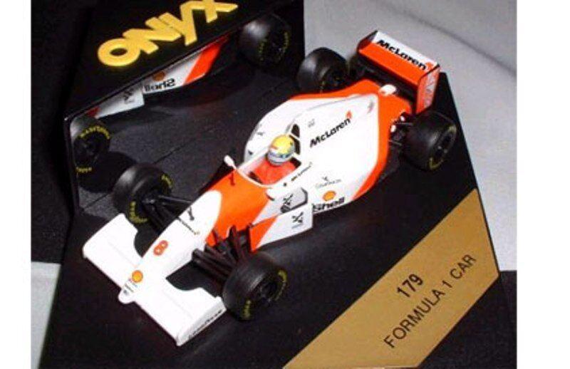 ONYX 178 179 McLaren F1 diecast car Mario Andretti Ayrton Senna Marlbgold 1 43rd