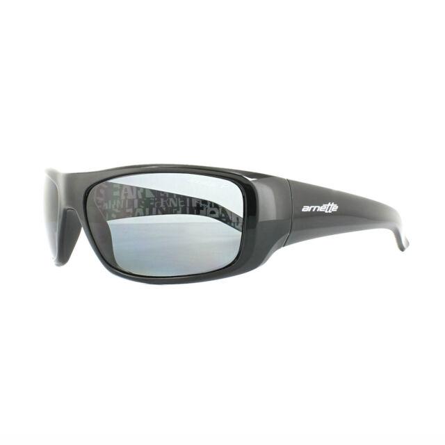 1548a564048f Arnette Sunglasses Hot Shot 4182 214981 Polished Black Graphics Grey  Polarized