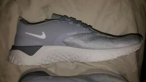 878666a7491f4 Image is loading NEW-NIKE-Odyssey-React-Flyknit-grey-White-Womens-