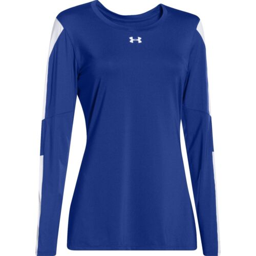 Medium NWT Under Armour Women/'s UA Block Party Long Sleeve Jersey Shirt Size
