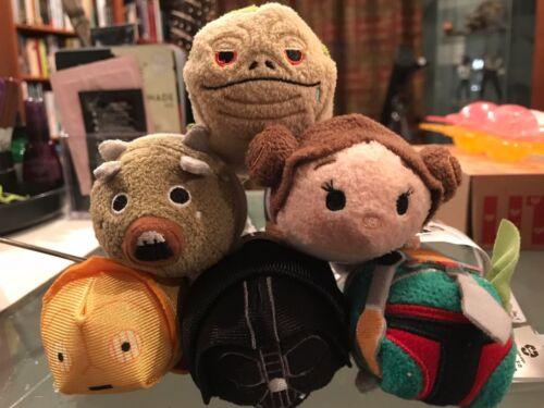 Disney Tsum Tsum  DARTH VADER  Star Wars Plush NWTs MINT