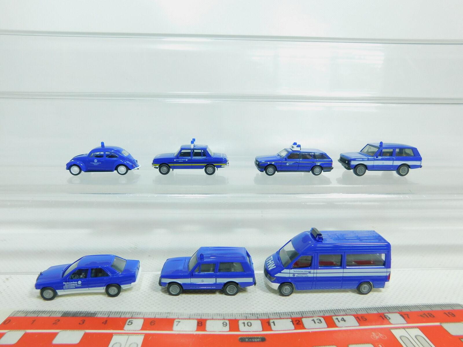 Bn140-0, 5  7x Herpa h0 1 87 87 87 THW-modelo  VW Escarabajo bmw + + MB + Wartburg etc, S.G. a91ffd