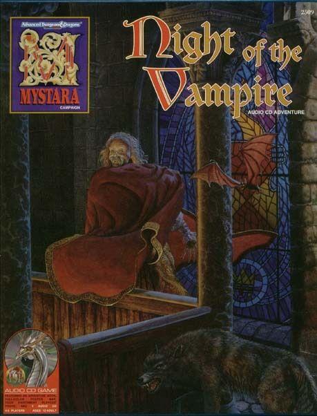 AD&D - NIGHT OF THE VAMPIRE boxed set TSR 2509 Mystara