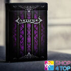 ELLUSIONIST ARTIFICE PURPLE 2nd EDITION BICYCLE PLAYING CARDS DECK MAGIC TRICKS
