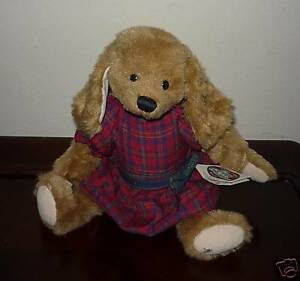Ganz Cottage Collectibles Stuffed Puppy Dog Lacey W Tags Mary Holstad Ebay