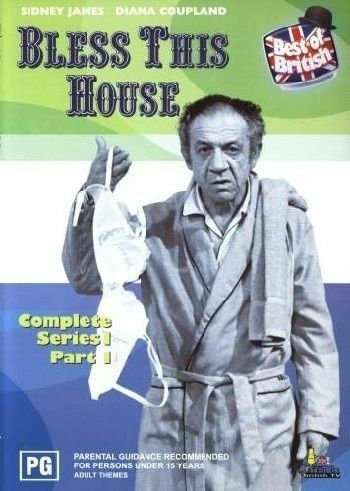 1 of 1 - Bless This House : Series 1 : Part 1 (DVD, 2003) *New & Sealed* Region 4