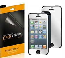 6x Mirror LCD Screen Protector Cover Guard Film For Apple iPhone 5 5th Gen New