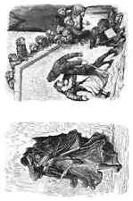 Gustave Dore gigantón Pantagruel 125 A4 Foto impresión