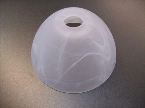 Glas Lampenschirm Ersatzglas Kegel beige alabaster E14 Lochmaß Fassung ø 30 mm