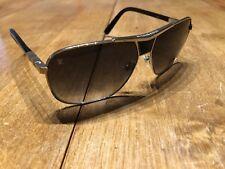 d9415c676cfd9 Authentic Louis Vuitton Sunglasses Z0403U 62  12 Attraction Silvertone X  Black