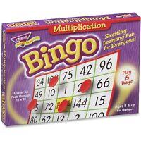 Trend Multiplication Bingo 5x5 36 Cards 700 Chips T6135