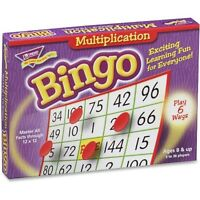 Trend Multiplication Bingo 5x5 36 Cards 700 Chips T6135