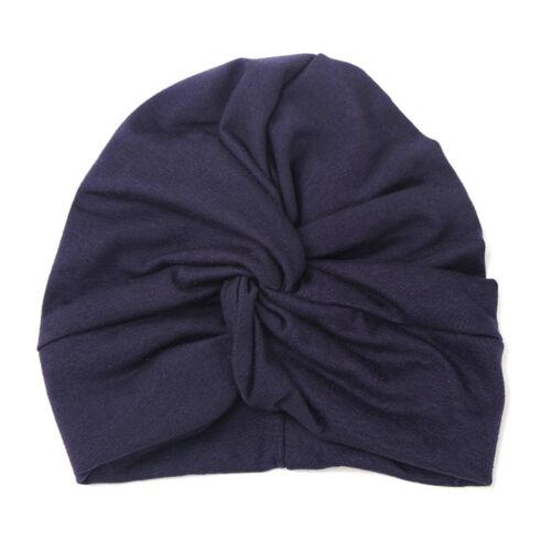 Cute Baby Hat Cotton Soft Turban Knot Summer Hat Newborn Cap For Baby Girls 1PC