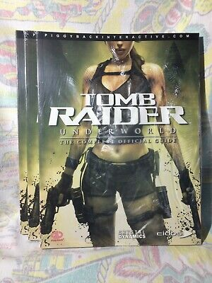Tomb Raider Underworld Game Strategy Guide Collection New Ps2