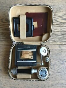 Rollei-TLR-Rolleikin-35mm-Conversion-Kit-with-Leather-case-in-Box