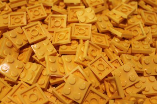 200 x LEGO® Plate in Gelb Yellow NEU 3022 Platten 2x2
