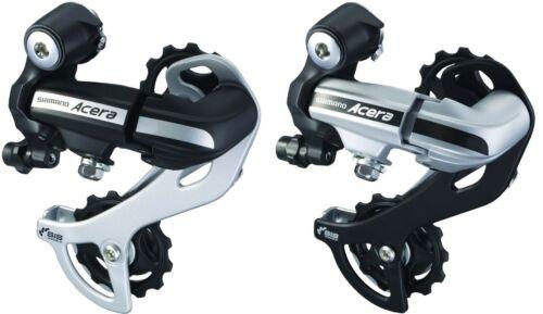 Schaltwerk Shimano Acera RDM-360 7-//8 fach MTB Trekking schwarz oder silber Neu