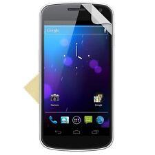 3x NUOVO Protettori dello schermo Guard per Samsung Galaxy Nexus i9250 Nuovo Sigillato Al Dettaglio