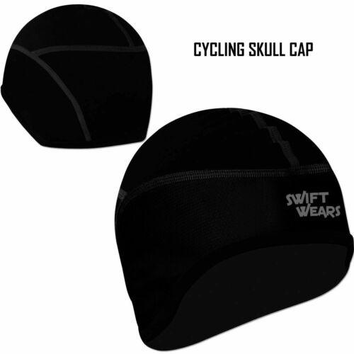 CICLISMO Skull Cap Bici Moto Sotto Casco WINDSTOPER Termica Invernale Cappello nuovo