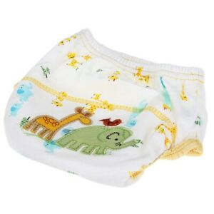 2X-diaper-Training-Pants-Washable-Waterproof-Cotton-elephant-pattern-for-Be-B7V7