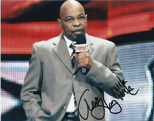WWE WWF WCW Wrestling Theodore Teddy Long autographed signed 8x10 photo