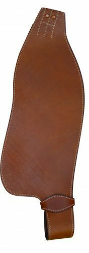 NEW REPLACEMENT WESTERN HORSE SADDLE FENDERS  SET OF 2 MEDIUM BROWN COLOR  40% off