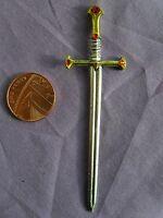 Dolls House Decorated Tudor Ceremonial Sword