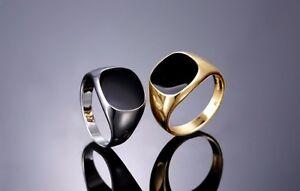 Herren-Maenner-Ring-Gelbgold-Weissgold-Gold-18K-pl-Silber-Herrenring-Onyx-ONYXRING