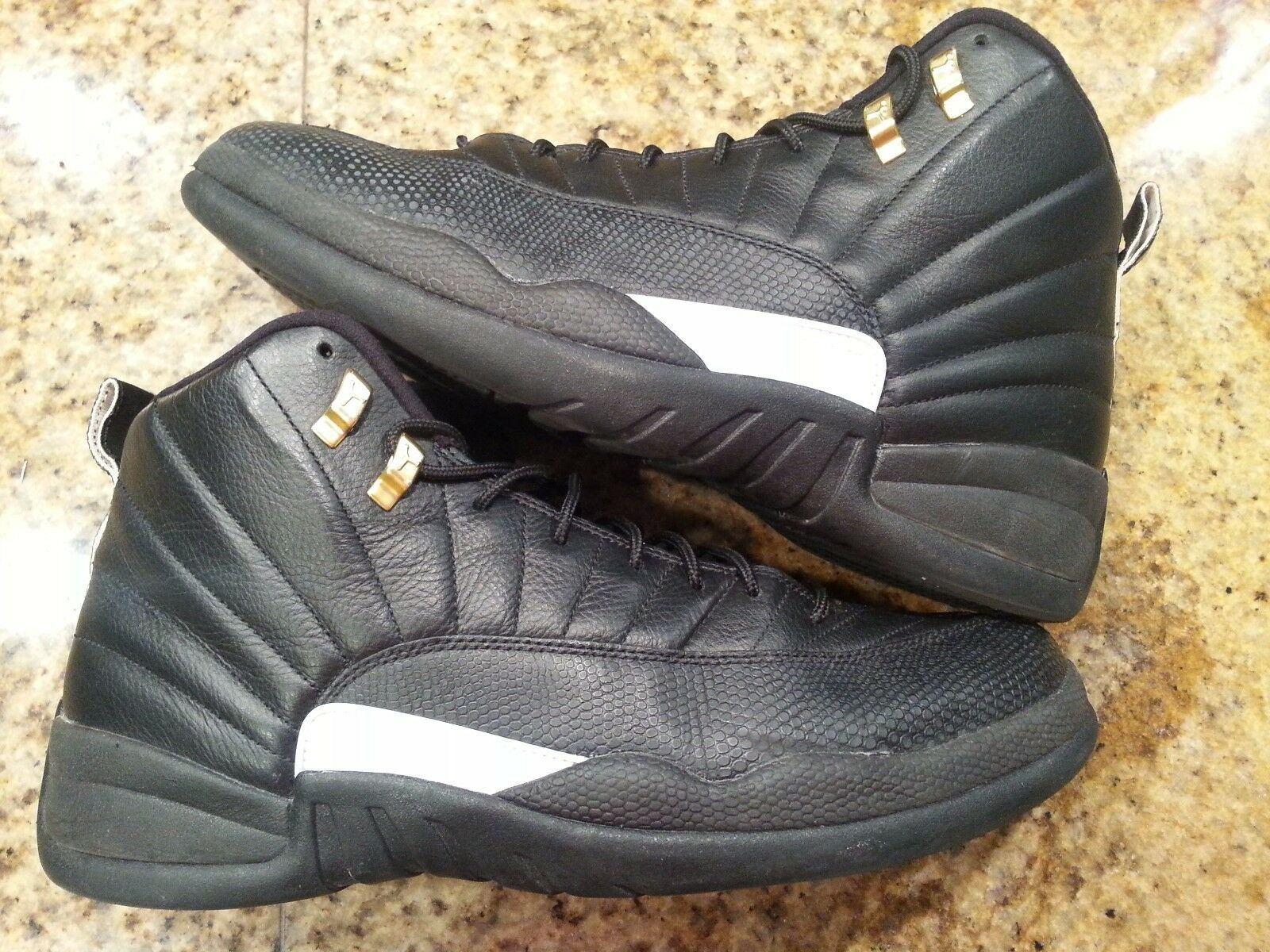 2016 NIKE AIR JORDAN 12 XII RETRO THE MASTER Size 13. 130690-013 flu gamma taxi