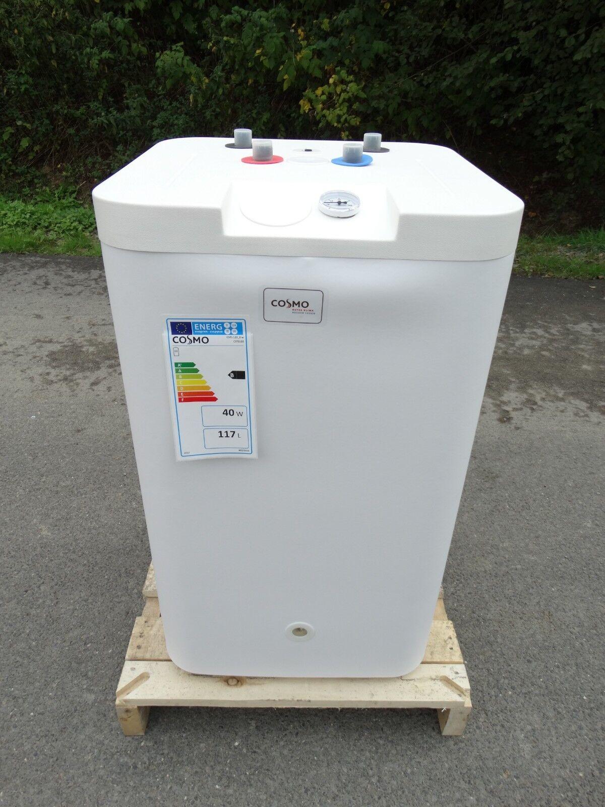 Thermenspeicher Warmwasserspeicher 120 L Unterstellspeicher mit Zirkulation