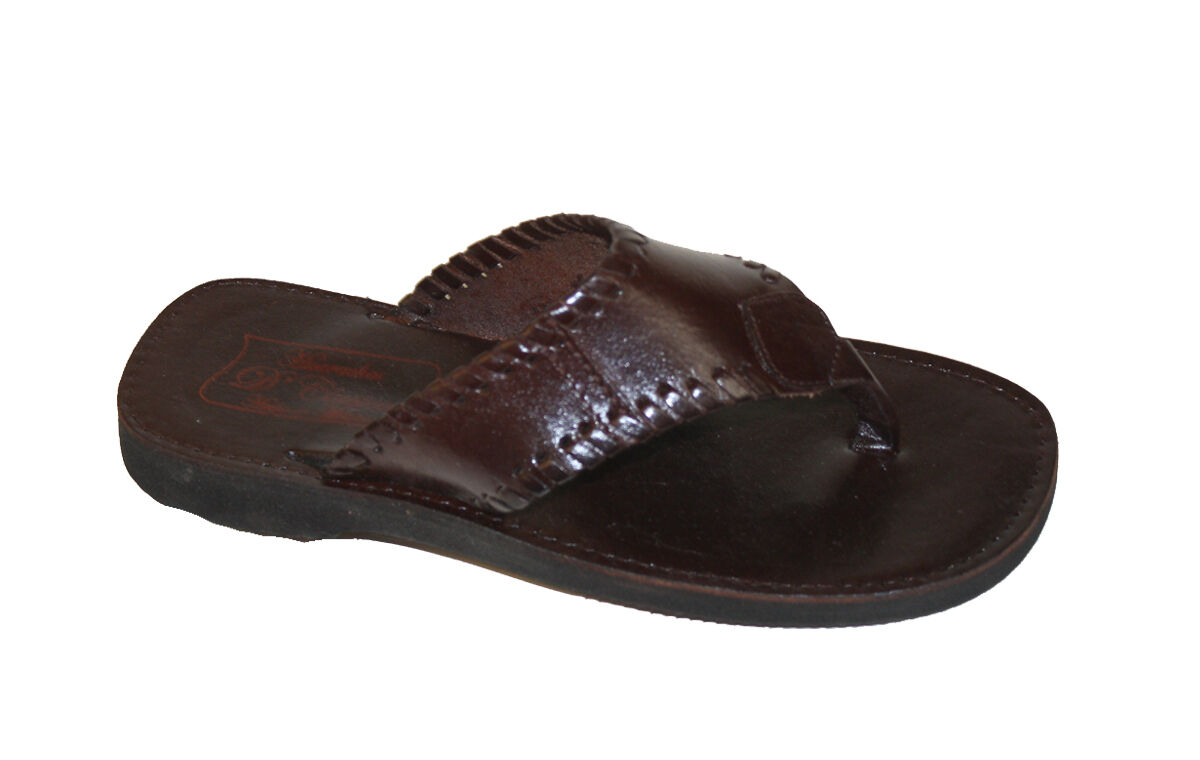 Men's  Leather  New Sandals Dark Brown Brand New  Special Price $24.99 Mexi Sandals 9c29eb