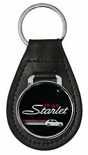 TOYOTA STARLET LEATHER KEY CHAIN RING FOB - KP60 KP61 EP71 EP82 EP91